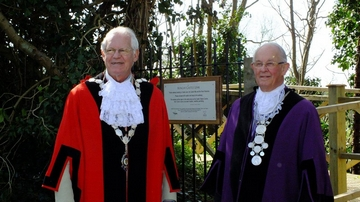 Town Reeve and Town Mayor