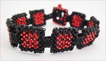 Fire at the Window CRAW bracelet