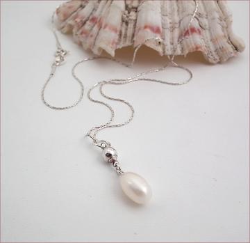 Pearl Drop on chain