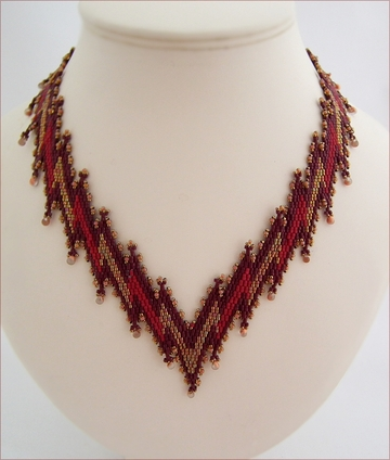Leaping Flames Necklace