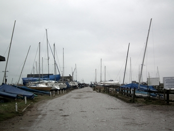 Boats at Southwold Harbour