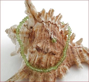 Peridot Precious Friendship Bracelet