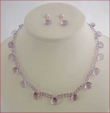 Pink Amethyst Set