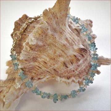 Apatite and Citrine Bracelet