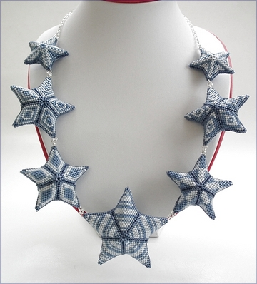 Starry Days and Nights Necklace