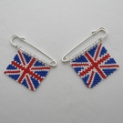 Union Jack Brooches