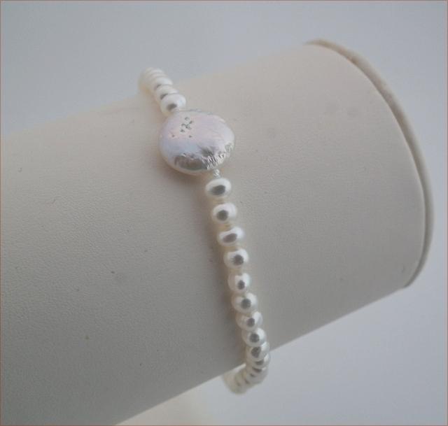 Freshwater Pearl Precious Friendship Bracelet (SM96)