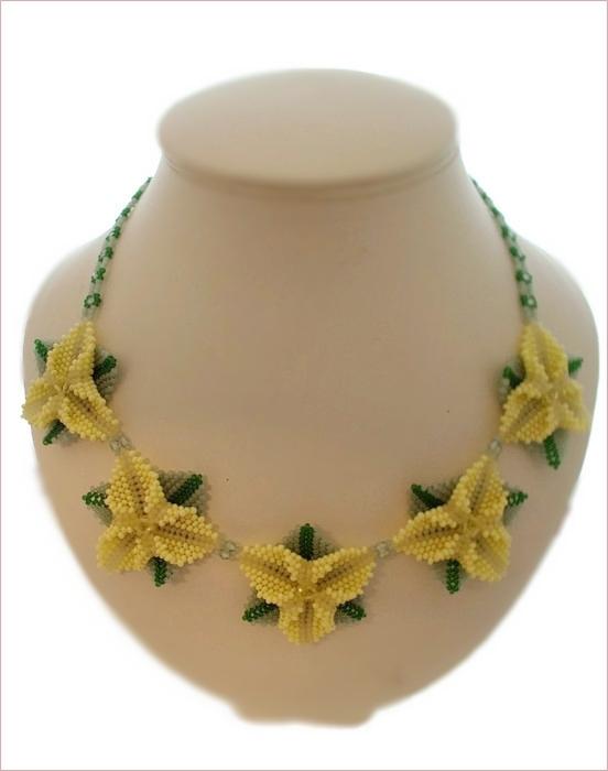 La La La Yellow Necklace and Earrings Set (BB126)