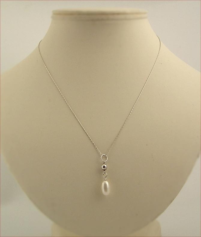 Pearl Drop Pendant (SM120)