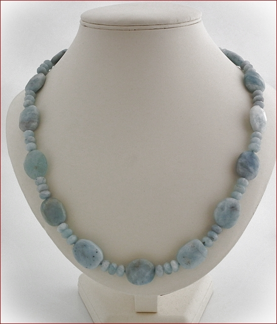 Aquamarine Necklace (SS71)