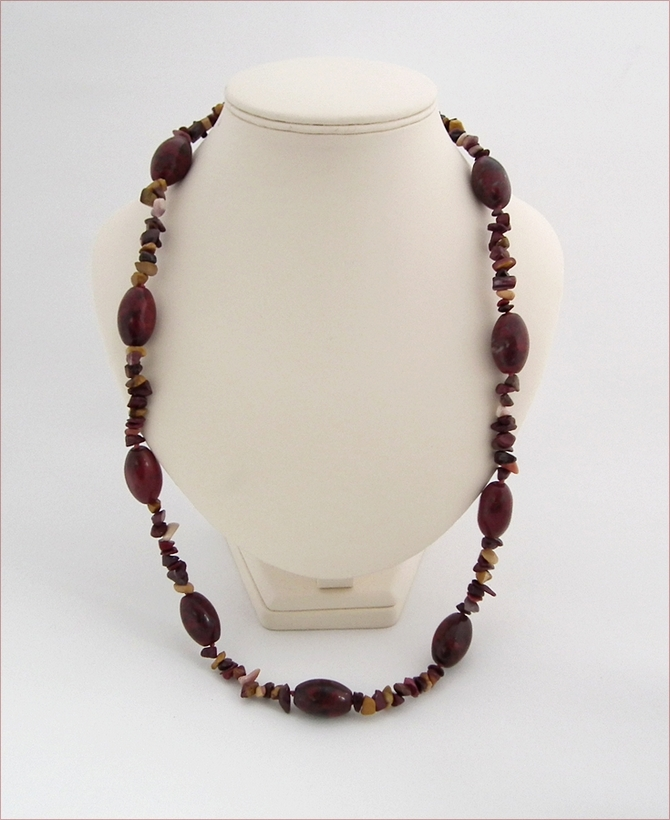 Brecciated Jasper Pebbles with Mookaite (LS95)