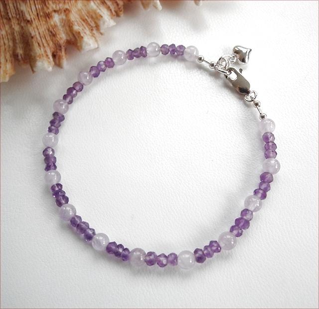 Amethyst Precious Friendship Bracelet (SM109)
