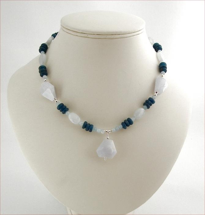 Symphony in Blue Necklace (SS34)