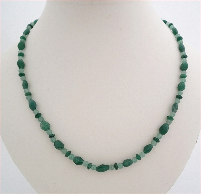 Green Aventurine Necklace (D43)