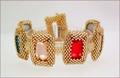 Persian Nights Bezelled Crystals Bracelet (BB019)