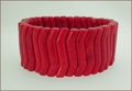 Red Howlite Stretch Bracelet (BH98)