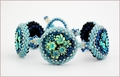 Flower Basket Bracelet (BB020)