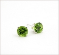 Peridot Stud Earrings (DDE29)