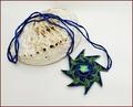 Sea Star Swarovski Crystal Pendant Necklace (BW139)