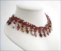 Mookaite and Beadwork Necklace (BLBN16)