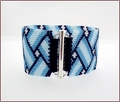 Blue Basketweave Bracelet (BB20)