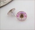 Magenta Dragonfly Earrings (BWD06e)