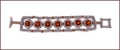Twenties Topaz Beadwork Bracelet (BB45)