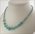 Raw Apatite Necklace (WB11)