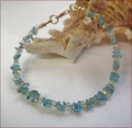 Apatite and Citrine Precious Friendship Bracelet (SM108)
