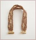 Sandy Shore Beadwork Bracelet (BB014)