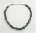 Aventurine Hearts Necklace (LS97)