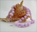 Lavender Candy Jade Necklace (BH89)