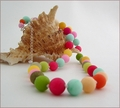 Candy Coloured Jade Necklace (BH91)