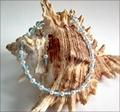 Blue Topaz and Pearl Precious Friendship Bracelet (SM128)
