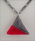 Colour Pops Beadwork Pendants on Chain