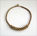 Contemporary Bronze Beadwork Necklace (BW59)
