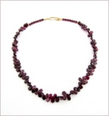 Garnet Pears Necklace (CG70)