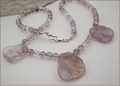Ametrine Slabs necklace (CG38)