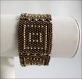 Bronze Geometric Bracelet (BB23)