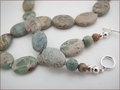 Impression Jasper Necklace (D50)