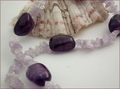 Light and Dark Amethyst Necklace (CG18)