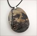 Picture Stone Jasper Pendant (LS81)