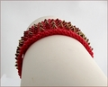 Red Dragon Beadwork Bracelet (BWB009)