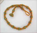 Kingfisher Beadwork Necklace (BB119)