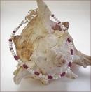 Ruby and Pearl Precious Friendship Bracelet (SM106)