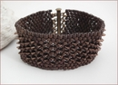 Bronze Dragon Beadwork Bracelet (BWB003)