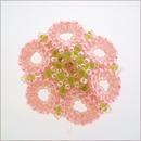 Pink Star Flower Brooch (BWB01)