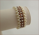 Pearly Queen Beadwork Bracelet (BB012)