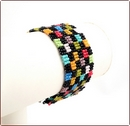 Patchwork Beadwork Bracelet (BB018)