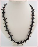 Firecracker Beadwork Necklace (BW29)